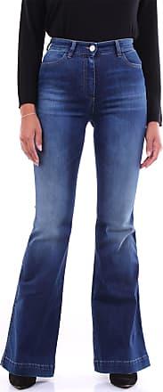 Pantaloni Torino Fondo Largo Jeans scuro