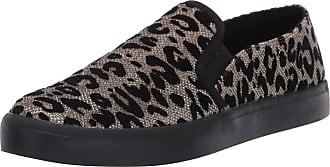 Jessica Simpson Womens Dinellia Sneaker, Gold/Black, 7.5