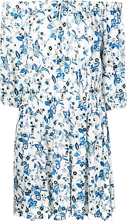 Liu Jo off-shoulder floral dress - White