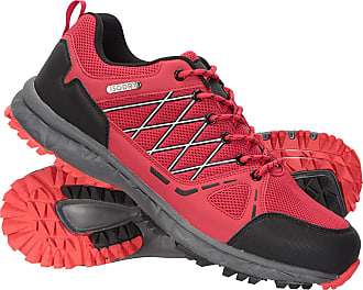 Mountain Warehouse Jupiter Mens Waterproof Trail Shoes - IsoDry Trainers, Breathable Footwear, EVA Footbed, High Traction - Best for Walking, Hiking, Camping, Outdoors R