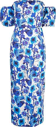 Borgo De Nor Vestido casual com estampa floral - Azul