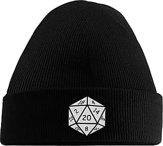 HippoWarehouse They See Me Rolling They Hating Embroidered Beanie Hat Black