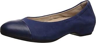 Dansko Womens Lisanne Ballet Flat, Blue Milled Nubuck, 37 M EU (6.5-7 US)