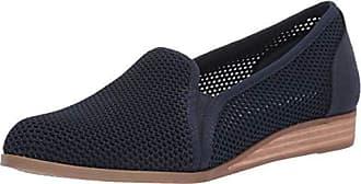 Dr. Scholls Womens Dawn It Loafer, Elegant Navy mesh, 8.5 M US