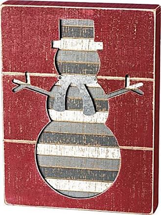 Primitives by Kathy Bike Love the Journey Stitched Block Wood Decorative Sign