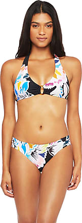 $170 Trina Turk Lavascape Triangle Top /& Tie Side Bottom 2 pc Bikini Swimsuit