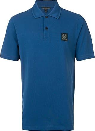 Belstaff Camisa polo com logo - Azul