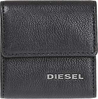 Diesel Kopper Leather Wallet Mens Black
