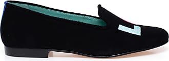 Blue Bird Loafer Love Colors de Camurça Preto - Mulher - 34 BR