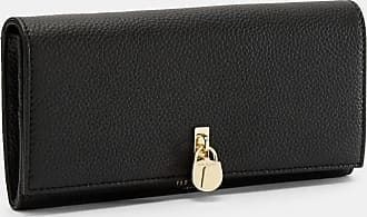 Ted Baker Padlock Clasp Matinee Purse in Black SYLIVI, Womens Accessories