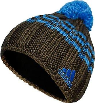296baf7e0114fe adidas Damen Pudelmütze mit Bommel Wintermütze Wolle, Größe:XS,  Farbe:Dunkelbraun/