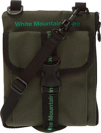 White Mountaineering Logo Shoulder Bag Mens Green