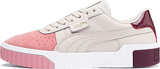 Puma Cali Remix Womens Trainers, Pastel Parchment/Bridal Rose, size 3.5, Shoes