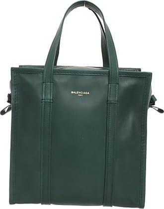 Balenciaga gebraucht - Balenciaga-Bazar Bag S aus Leder in Grün - Tote Bag - Damen - Leder