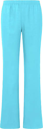 Peter Hahn Pull-on trousers in 100% linen Peter Hahn blue