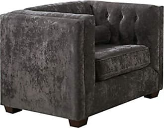 Coaster Fine Furniture Alexis Tufted Back Chair Charcoal