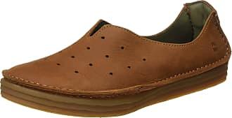 El Naturalista S.A Nf88 Pleasant Rice Field, Womens Slip On Shoes, Brown (Wood), 7 UK (40 EU)