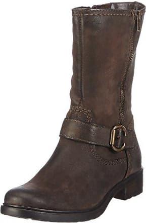 braune Tamaris Stiefel Größe 40 mit Absatz
