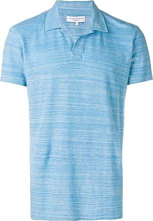 Orlebar Brown Camisa polo lisa - Azul