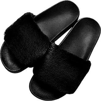 Plüsch Einhorn Hausschuhe Schuhe Pantoffeln Schlappen Slippers Damen Erwachsene
