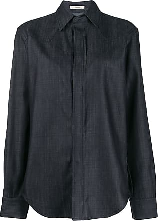 Zilver BCI cotton button-down shirt - Blue