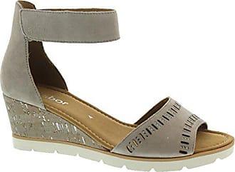 GABOR comfort Damen Keil Sandaletten Schwarz Schuhe in