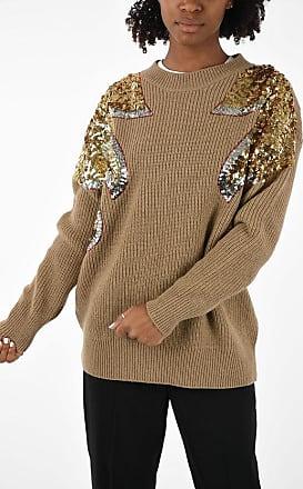 N°21 Virgin Wool Paillettes Sweater Größe 40
