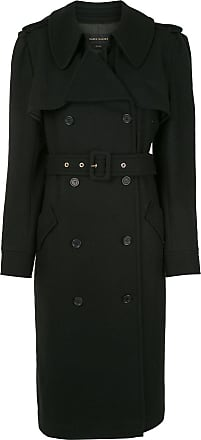 Karen Walker Magmatic belted trench coat - Black