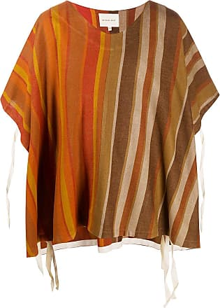 Nicholas Daley Camiseta listrada - Laranja