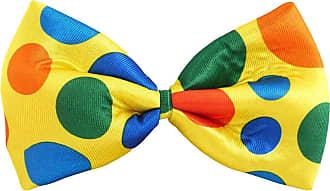 21Fashion Unisex Smart Bow Neck Tie Mens Neck Tie Fancy Dress Party Wedding Accessory (Clown Bow Tie) One Size