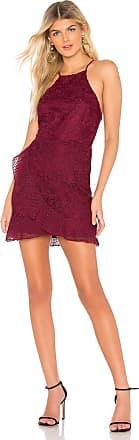 About Us Cora Mini Dress in Wine