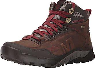 Merrell Mens Annex Trak Mid Waterproof Hiking Boot, Clay, 7 M US