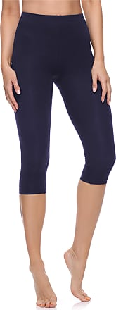 Merry Style Womens 3/4 Leggings MS10-199(Navy Blue, XS)