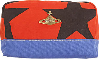 Vivienne Westwood Womens Pouch, Ethical Fashion Africa Collection, Red, Canvas, 2017, one size