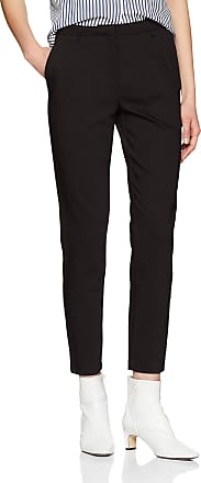 Vila Womens Viadelia Rw 7/8 New Pant-noos Trouser Suit, Black, 14 (Size: 40)