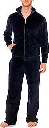 ADIDAS HERREN TRAININGS FREIZEIT HAUS ANZUG, Set mit T Shirt, Gr. M, blau