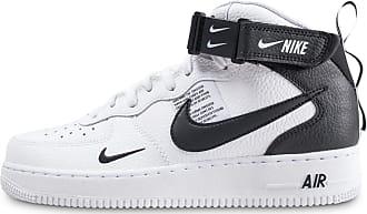 size 40 55755 d7d62 Nike Homme Air Force 1 Mid 07 Lv8 Utility Blanche Et Noire Baskets