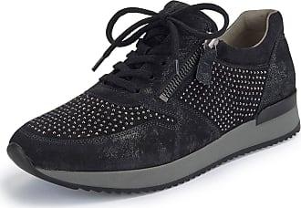 Gabor Kidskin suede sneakers Gabor black