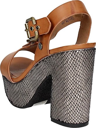 Sandale cuir WL171721 Femme Wrangler Marron SUVqzMp