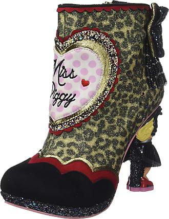 Irregular Choice Womens Fierce Piggy Boots, Multicolour (Leopard Multi), 6 UK 39 EU
