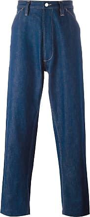 E. Tautz Calça jeans pantalona Chore - Azul
