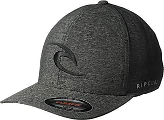 Rip Curl Mens Phase Icon Curve Peak Cap Hat, Black 1SZ