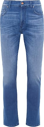 7 For All Mankind CALÇA MASCULINA LARRY LEFT - AZUL