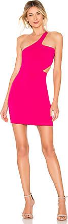 NBD x Naven Minnie Dress in Fuchsia