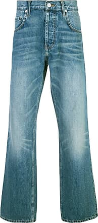 Adaptation stonewashed bootcut jeans - Blue