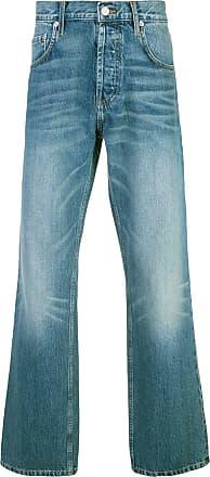 Adaptation stonewashed bootcut jeans - Blue