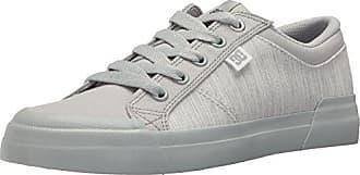 DC Womens Danni Tx Se Skate Shoe, Grey, 5 B US