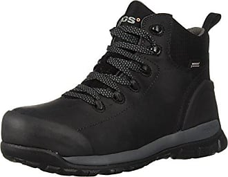 Bogs Mens Foundation Leather Mid Composite Toe Waterproof Industrial Work Boot, Black, 10.5 D(M) US