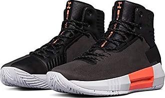 Under Armour Mens Drive 4 Premium Basketball Shoe, 001/Black, 8.5
