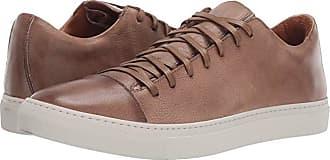 John Varvatos Reed Low Top Sneaker (Wood Brown) Mens Shoes